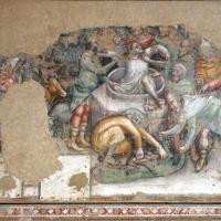 Anonimo bolognese, storie di giuseppe ebreo, 1330-75 ca., 02 giuseppe calato nel pozzo - Sailko - Bologna (BO)