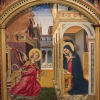 L'alunno, madonna in trono e santi con annunciazione, 07 - Sailko - Bologna (BO)