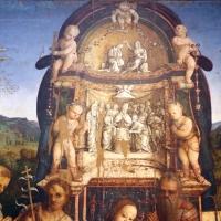 Amico aspertini, madonna in trono, santi e due devoti, 1504-05, dai ss. girolamo ed eustachio, 02,1 - Sailko - Bologna (BO)