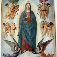 Lorenzo costa, assunta e coro d'angeli, 1480-90 ca., da s. maria assunta in monteveglio, 01 - Sailko - Bologna (BO)