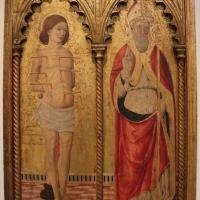 Cristoforo di benedetto, frammenti di polittico coi ss. sebastiano e prospero, 1467, da s. prospero - Sailko - Bologna (BO)