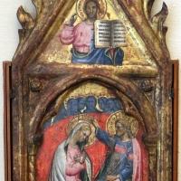 Lippo di dalmasio, incoronazione della vergine e dio benedicente, 1394, 01 - Sailko - Bologna (BO)
