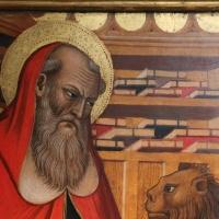 Pietro di giovanni lianori, polittico da s. girolamo di miramonte, 1453, 03 libri - Sailko - Bologna (BO)