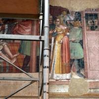 Anonimo bolognese, storie di giuseppe ebreo, 1330-75 ca., 05 moglie di putifarre - Sailko - Bologna (BO)