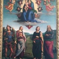 Madonna col Bambino in gloria Vannucci Pietro detto Perugino - Waltre manni - Bologna (BO)
