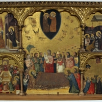 Pseudo jacopino, polittico, 1330-35, da pin. naz.le bologna 01 - Sailko - Bologna (BO)