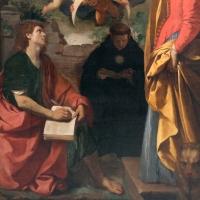 Simone cantarini, madonna in gloria tra santi, 1632-34 ca., 04 - Sailko - Bologna (BO)