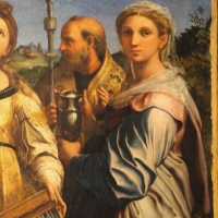 Raffaello e collaboratori, estasi di santa cecilia, 1515 ca. da pinacoteca nazionale 04 - Sailko - Bologna (BO)