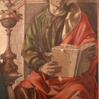 Francesco del cossa, pala dei mercanti, col committente alberto de' cattanei, 1474, 08 - Sailko - Bologna (BO)