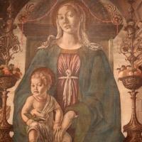 Francesco del cossa, pala dei mercanti, col committente alberto de' cattanei, 1474, 05 - Sailko - Bologna (BO)