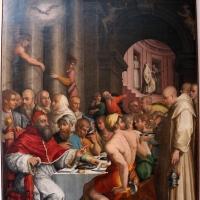 Giorgio vasari, cena in casa di san gregorio magno, 1540, da s. giovanni in bosco, 01 - Sailko - Bologna (BO)