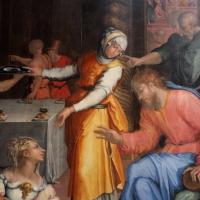 Giorgio vasari, gesù in casa di marta e maria, 1540, da s. michele in bosco 02 - Sailko - Bologna (BO)