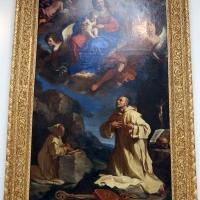 Guercino, san bruno in adorazione della madonna in gloria, 1647, da s. girolamo della certosa 01 - Sailko - Bologna (BO)