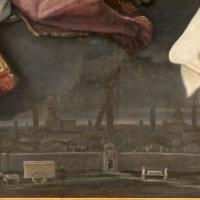 Guido reni, pala della peste, 1630, dal palazzo pubblico 09 veduta di bologna - Sailko - Bologna (BO)