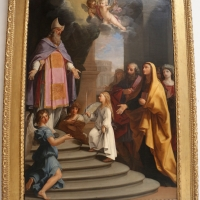 Giovanni andrea sirani, presentazione della vergine al tempio, 1643 ca., da chiesa della prsentaz. della vergine 01 - Sailko - Bologna (BO)