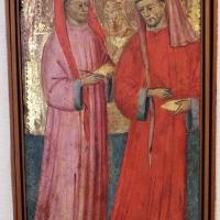 Pittore bolognese, ss. cosma e damiano, 1400-10 ca - Sailko - Bologna (BO)