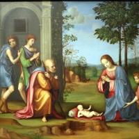 Francesco francia, visione di s. agostino, 1510 ca., da s.m. della misericordia, 02 - Sailko - Bologna (BO)