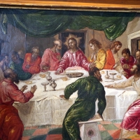 El greco, ultima cena, 1567-68, 02 - Sailko - Bologna (BO)