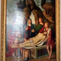 Lorenzo costa e bottega, sepoltura di gesù cristo, 1500-06, dall'annunziata 01 - Sailko - Bologna (BO)