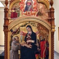 L'alunno, madonna in trono e santi con annunciazione, 01 - Sailko - Bologna (BO)