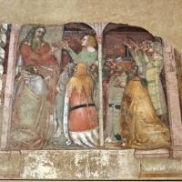 Anonimo bolognese, storie di giuseppe ebreo, 1330-75 ca., 06 giuseppe nominato sovrintendente dal faraone - Sailko - Bologna (BO)