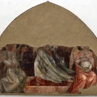 Vitale da bologna, resurrezione, post 1352, da chiostro dei morti di s. francesco - Sailko - Bologna (BO)