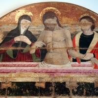 Maestro della pala dei muratori, pala dei muratori, 1476 ca., da arte dei muratori, 02 pietà - Sailko - Bologna (BO)