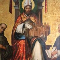 Lorenzo costa, san petronio tra i ss. francesco e domenico, 1502, 04 - Sailko - Bologna (BO)