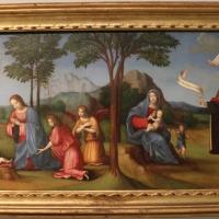 Francesco francia, visione di s. agostino, 1510 ca., da s.m. della misericordia, 01 - Sailko - Bologna (BO)