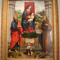 Francesco francia, madonna in trono e santi, 1495 ca. 01 dall'annunziata - Sailko - Bologna (BO)