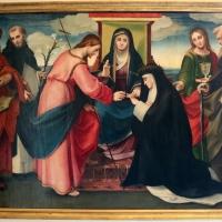 Il bagnacavallo, sposalizio mistico di s. caterina da siena e santi, 1517 ca., da s. domenico - Sailko - Bologna (BO)