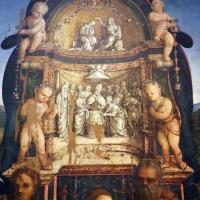 Amico aspertini, madonna in trono, santi e due devoti, 1504-05, dai ss. girolamo ed eustachio, 02,2 - Sailko - Bologna (BO)