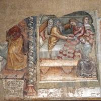 Anonimo bolognese, storie di giuseppe ebreo, 1330-75 ca., 01 giuseppe prediletto dal padre - Sailko - Bologna (BO)