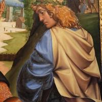 Francesco francia, adorazione del bambino con santi alla presenza di anton galeazzo e alessandro bentivoglio, 1498-99, da s.m. della misericordia 07 - Sailko - Bologna (BO)