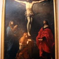 Guido reni, Cristo crocifisso con la Madonna, Giovanni e la Maddalena, 1617 ca., da monte calvario dei cappuccini 01 - Sailko - Bologna (BO)