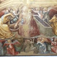 Vitale da bologna, annunciazione, natività, sogno di maria e guarigione miracolosa, 1340-45 ca., da oratorio di mezzaratta 06 - Sailko - Bologna (BO)