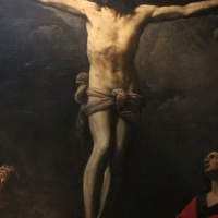 Guido reni, Cristo crocifisso con la Madonna, Giovanni e la Maddalena, 1617 ca., da monte calvario dei cappuccini 02 - Sailko - Bologna (BO)