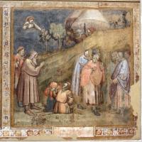 Jacopo di paolo e altri, storie di mosè, 1375-80 ca., da oratorio di mezzaratta, 06 miracolo di mosè - Sailko - Bologna (BO)