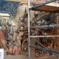 Jacopo di paolo e altri, storie di mosè, 1375-80 ca., da oratorio di mezzaratta, 04 punizione dei ribelli al sacerdozio di aronne - Sailko - Bologna (BO)
