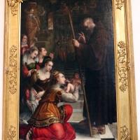 Lavinia fontana, s. francesco di paola benedice il figlio di luisa di savoia, 1590, da s.m. della morte 01 - Sailko - Bologna (BO)