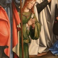 Francesco francia, adorazione del bambino con santi alla presenza di anton galeazzo e alessandro bentivoglio, 1498-99, da s.m. della misericordia 04 - Sailko - Bologna (BO)