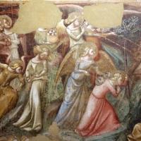 Vitale da bologna, annunciazione, natività, sogno di maria e guarigione miracolosa, 1340-45 ca., da oratorio di mezzaratta 05 - Sailko - Bologna (BO)