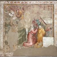 Jacopo di paolo e altri, storie di mosè, 1375-80 ca., da oratorio di mezzaratta, 03 consegna della legge - Sailko - Bologna (BO)