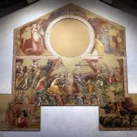 Vitale da bologna, annunciazione, natività, sogno di maria e guarigione miracolosa, 1340-45 ca., da oratorio di mezzaratta 01 - Sailko - Bologna (BO)
