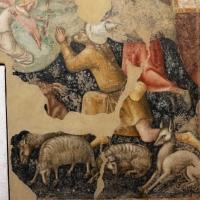 Vitale da bologna, annunciazione, natività, sogno di maria e guarigione miracolosa, 1340-45 ca., da oratorio di mezzaratta 08 - Sailko - Bologna (BO)