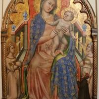 Simone dei crocifissi, madonna col bambino, angeli e il donatore giovanni da piacenza, 1378-80 ca., dalla madonna del monte 01 - Sailko - Bologna (BO)