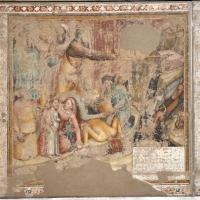 Jacopo di paolo e altri, storie di mosè, 1375-80 ca., da oratorio di mezzaratta, 02 sorgente dalla roccia - Sailko - Bologna (BO)