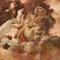 Domenico Maria Canuti, salone di palazzo pepoli campogrande con apoteosi di ercole, quadrature del mengazzino, xvii sec. 05 - Sailko - Bologna (BO)
