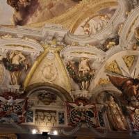 Domenico Maria Canuti, salone di palazzo pepoli campogrande con apoteosi di ercole, quadrature del mengazzino, xvii sec. 31 - Sailko - Bologna (BO)
