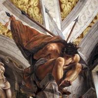 Domenico Maria Canuti, salone di palazzo pepoli campogrande con apoteosi di ercole, quadrature del mengazzino, xvii sec. 10 - Sailko - Bologna (BO)